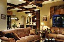 Mediterranean Interior - Family Room Plan #930-428