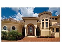 Mediterranean Exterior - Front Elevation Plan #930-440