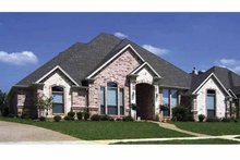 Traditional Exterior - Front Elevation Plan #84-768