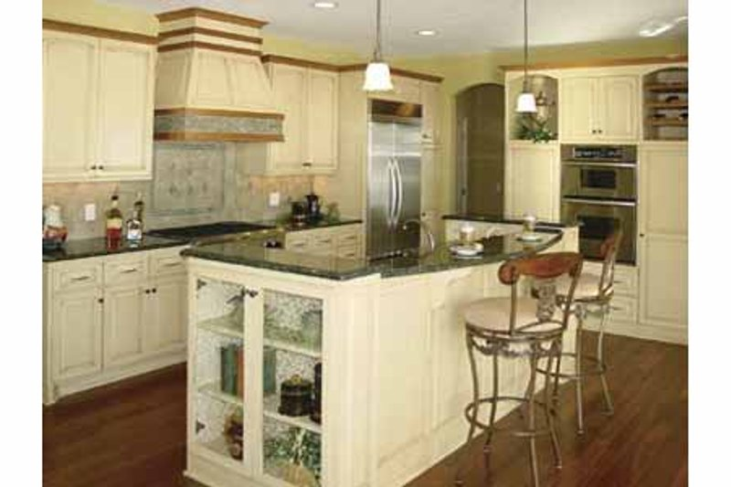 European Interior - Kitchen Plan #320-994 - Houseplans.com
