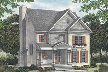 House Plan Design - Traditional Exterior - Front Elevation Plan #453-525
