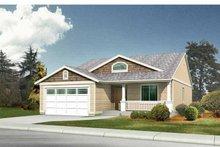 Craftsman Exterior - Front Elevation Plan #569-18