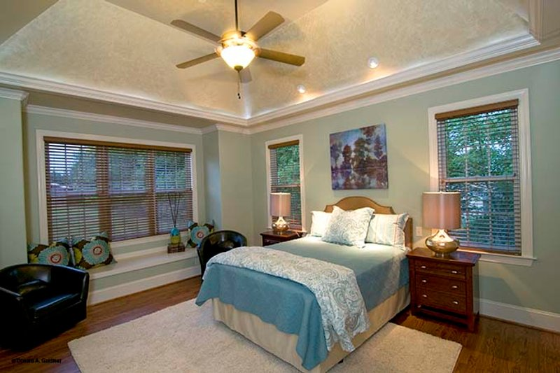 European Interior - Master Bedroom Plan #929-870 - Houseplans.com