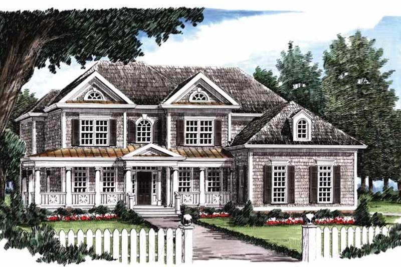Classical Exterior - Front Elevation Plan #927-645 - Houseplans.com