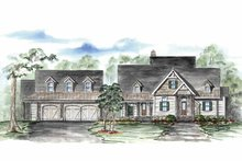 House Plan Design - Country Exterior - Front Elevation Plan #54-316