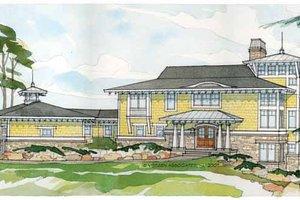 Prairie Exterior - Front Elevation Plan #928-38