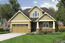 Craftsman Exterior - Front Elevation Plan #48-901
