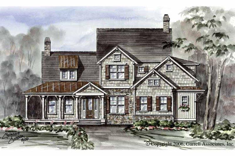 Victorian Exterior - Front Elevation Plan #54-266 - Houseplans.com