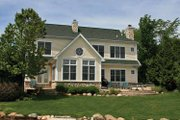 Craftsman Style House Plan - 5 Beds 3 Baths 3506 Sq/Ft Plan #928-208 Exterior - Rear Elevation
