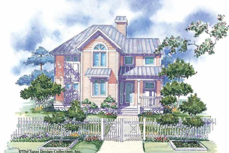 Victorian Exterior - Front Elevation Plan #930-66 - Houseplans.com