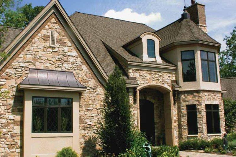 Tudor Exterior - Front Elevation Plan #928-61 - Houseplans.com