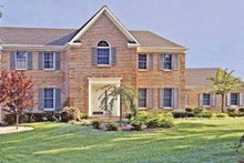 Dream House Plan - Traditional Exterior - Front Elevation Plan #314-244