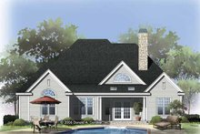 Traditional Exterior - Rear Elevation Plan #929-822
