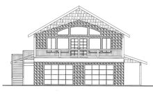 House Design - Country Exterior - Front Elevation Plan #117-836