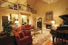 Dream House Plan - Craftsman Interior - Family Room Plan #132-485
