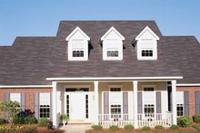 Country Exterior - Front Elevation Plan #406-9626