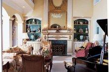 House Plan Design - Traditional Interior - Family Room Plan #54-182