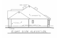 Home Plan - Traditional Exterior - Other Elevation Plan #20-2123