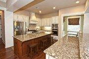 Craftsman Style House Plan - 4 Beds 3.5 Baths 3760 Sq/Ft Plan #80-205 Interior - Kitchen