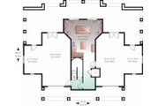 Beach Style House Plan - 4 Beds 3.5 Baths 4959 Sq/Ft Plan #23-854 Floor Plan - Lower Floor Plan