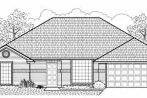 Traditional Exterior - Front Elevation Plan #65-107