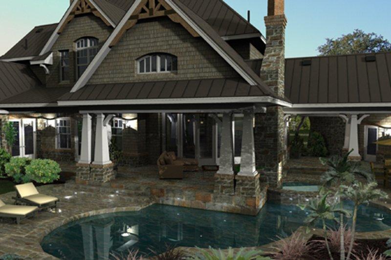Craftsman Photo Plan #120-173 - Houseplans.com