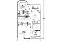 Country Floor Plan - Main Floor Plan Plan #56-245