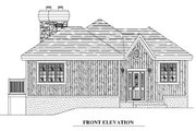 Traditional Style House Plan - 3 Beds 2 Baths 1996 Sq/Ft Plan #138-340 Exterior - Other Elevation