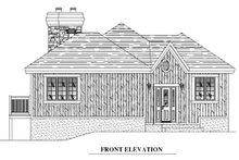 House Plan Design - Traditional Exterior - Other Elevation Plan #138-340