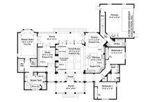 Ranch Floor Plan - Main Floor Plan Plan #930-244