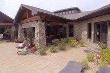Architectural House Design - Contemporary Exterior - Rear Elevation Plan #17-2551