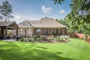European Style House Plan - 3 Beds 2 Baths 2487 Sq/Ft Plan #430-154 Exterior - Rear Elevation