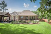 European Style House Plan - 3 Beds 2 Baths 2487 Sq/Ft Plan #430-154 Exterior - Rear Elevation