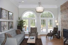 Architectural House Design - Country Interior - Family Room Plan #952-78