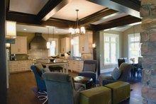 House Plan Design - European Interior - Kitchen Plan #928-180