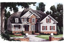 Traditional Exterior - Front Elevation Plan #927-761
