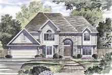 House Plan Design - Traditional Exterior - Front Elevation Plan #316-149
