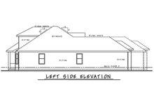 Architectural House Design - Mediterranean Exterior - Other Elevation Plan #20-2443