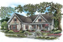 House Plan Design - Country Exterior - Front Elevation Plan #929-776