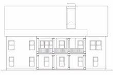 Home Plan - Ranch Exterior - Rear Elevation Plan #419-148