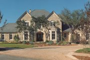 Traditional Style House Plan - 4 Beds 4.5 Baths 5326 Sq/Ft Plan #935-16 Exterior - Front Elevation