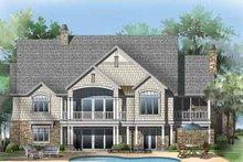 Craftsman Exterior - Rear Elevation Plan #929-861