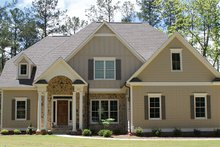Architectural House Design - Colonial Exterior - Front Elevation Plan #927-407