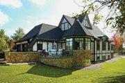 Tudor Style House Plan - 4 Beds 3.5 Baths 4940 Sq/Ft Plan #928-27 Exterior - Rear Elevation