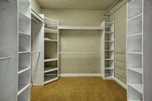 Home Plan - Mediterranean Interior - Master Bedroom Plan #80-184