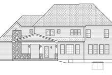 Dream House Plan - Colonial Exterior - Rear Elevation Plan #1010-176