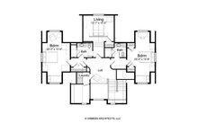 Traditional Floor Plan - Upper Floor Plan Plan #928-262