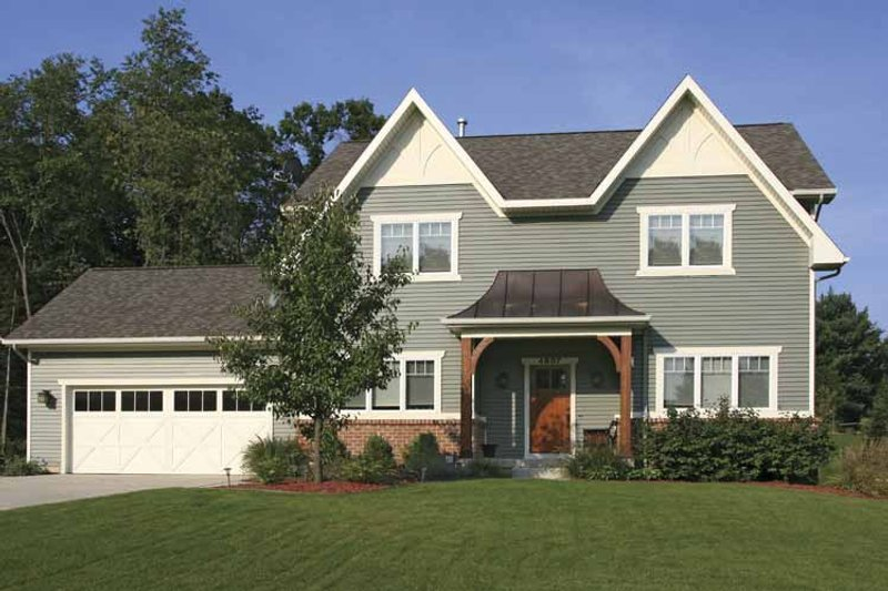 Country Exterior - Front Elevation Plan #928-161 - Houseplans.com
