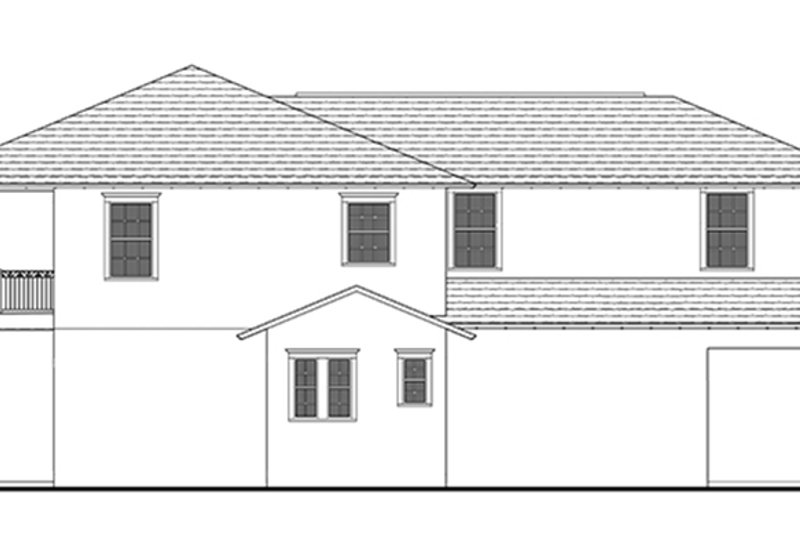 Southern Exterior - Other Elevation Plan #1058-75 - Houseplans.com