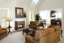 Architectural House Design - Traditional Interior - Family Room Plan #927-874